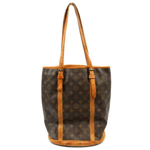 LOUIS VUITTON Bucket GM Shoulder Bag Bucket Tote Bag Monogram Brown M42236