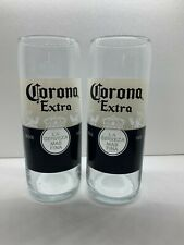 More details for corona extra 20oz pint glasses x 2