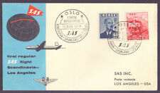 Aviation Used Norwegian Stamps
