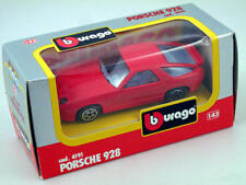 B burago 4191 Porsche 928 Rouge 1/43 Die-Cast Made in Italy modélisme static