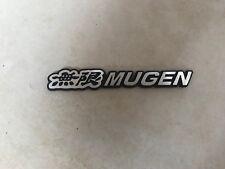 Honda Civic Fn2 Type R Mugen Grille Badge ( Correct Font ! )