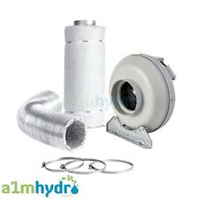 CarboAir Carbon Filter Kit RVK Fan Extraction Ducting Hydroponics