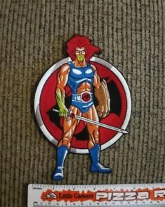 Lion-O Thundercats large embroidered Jacket Back Patch NEW