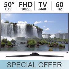 """Samsung 50"""" Smart 1080p FULL HD SMART LED TV w/ Built-In Wi-Fi UN50J520D - NEW"""