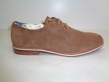 ED by Ellen Degeneres Size 9 M LARKIN Brown Suede Lace Oxfords New Womens Shoes