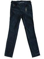 Diesel Damen Skinny FitStretch Jeans Hose| Indigo-Blau|W26 L32