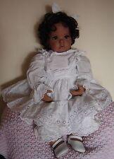 Artist collectors porcelain doll Terrible Twos Donna Rupert. Jayne Seddon artist