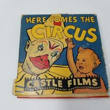 Vintage 1930's 16mm Complete Edition Here Comes The Circus Castle Films