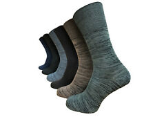 3 Pairs Men's Non Elastic Bamboo Socks Soft Touch Size 6-11