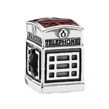 New Authentic Pandora Charm London Calling Enamel 791202EN49 Box Included