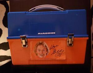 1980's Wayne Gretzky Aladdin Lunch Box VARIATION!  EXTREMELY RARE!