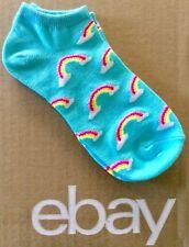 Women's Rainbow Ankle Low Cut Socks Size 9-11