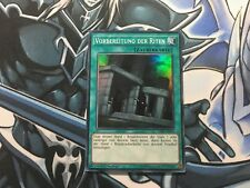 PREPARATION OF RITES SUPER RARE GERMAN THSF-EN053 DE053 MODERATE PLAY YUGIOH