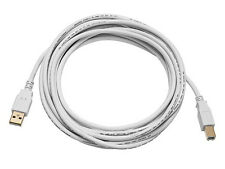 USB Cable Cord For Cricut Expression & Cricut Expression 2, White, 10ft