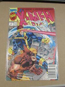 1991 MARVEL COMICS X-MEN #1 WOLVERINE & ROGUE NEWSSTAND COVER