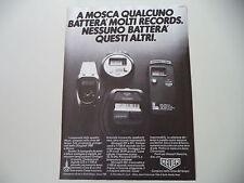 advertising Pubblicità 1980 HEUER MICROSPLIT 221 e 231