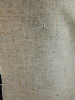 """Upholstery fabric  wool polyester fabric, color natural 60"""" wide, sold by yard"""
