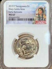 2019 P Native Sacagawea Dollar Mary Golda Ross $1 NGC MS 67