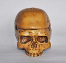Celtic Skull  Resin Smoking Cigarette Cigar Ashtray 3.5'' inch