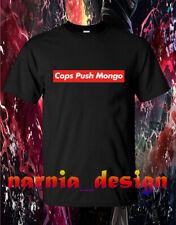 Rare !! Cops Push Mongo Logo Men's Clothing T-Shirt Size S-3XL