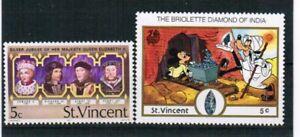 St. Vincent Stamps see scan