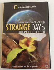 NATIONAL GEOGRAPHIC: STRANGE DAYS ON PLANET EARTH – 2 DVD SET, REGION 0,