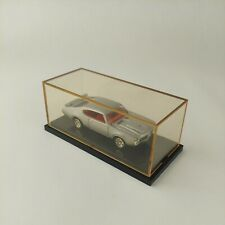 Mattel Hot Wheels 1969 Oldsmobile H/O 455 Silver w/ Red 1:64 in Display Case