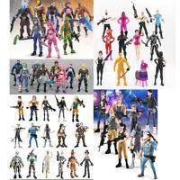 Fortnite Toys Action Figures Gift Toy Set Trooper Ninja Outlander Commando Skull