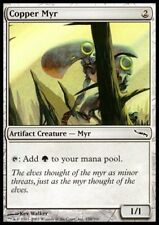 MTG 1x COPPER MYR - Mirrodin *Mana Source FOIL NM*