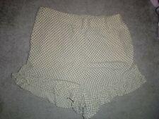 H&M beige summer shorts size 16 *BNWT*
