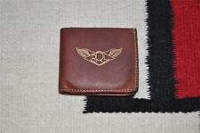 Ralph Lauren RRL Vintage Leather Slim Bifold Wallet