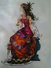 "Mirabilia ""Gypsy Queen"" Completed Unframed Cross Stitch"