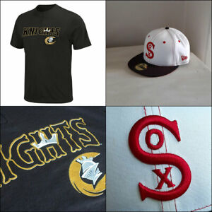 Chicago White Sox Affiliate 2 Button MLB T shirt PLUS 5950 Fitted Baseball Cap