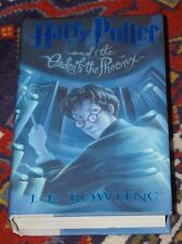 HARRY POTTER AND THE ORDER OF THE PHOENIX FIRST PRINTING HARDCOVER WITH JACKET