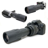 10x 42 1000mm Telescope for Canon EOS Rebel XTi 400D Kiss X EF-s 18-55mm Lens