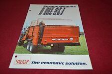 Deutz Fahr Forage Wagon Dealers Brochure DCPA2