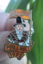 Early Butlin / Butlins Badge  -  Pwllheli  1953  Red & Orange