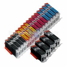 20+ PK PGI-250 CLI-251 Ink Tank for Canon Printer Pixma MX722 MX922 MG5420 4PGI