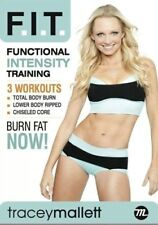 TRACEY MALLETT FITNESS FIT FUNCTIONAL INTENSITY TRAINING WORKOUT DVD NEW SEALED