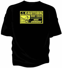 'Caution' classic car t-shirt - 'May Talk Endlessly About...Ford Granada