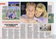 Coupure de presse Clipping 1990 Jean-Pierre Papin   (2 pages)