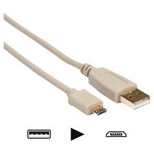 Câble USB 2.0 Fiche USB A vers Fiche Micro USB A Longueur 5 Métres