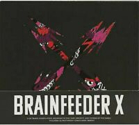 VARIOUS Brainfeeder X DOUBLE CD Europe Brainfeeder 2018 36 Track 2Cd