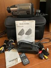 Hitachi 8mm Camcorder M# Vm-E55A  Plays video, no sound,direct plug in adapted.