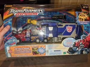 Sealed Transformers Armada Optimus Prime with Mini-Con Sparkplug with Shelf Wear
