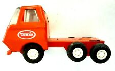 Vintage Orange TONKA Wrecker Truck Pressed Metal front part only