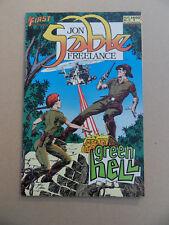 Jon Sable Freelance 15 . First 1984 . VF