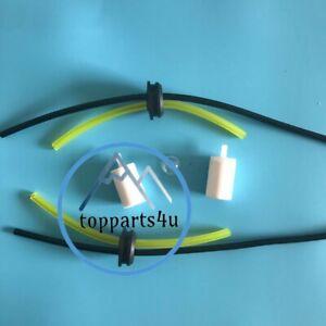 2X Complete Fuel Line Filter Fuel Tank Grommet for Redmax Leaf Blowers 570988101