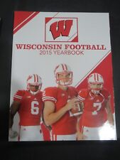2015 UNIVERSITY OF WISCONSIN BADGERS FOOTBALL MEDIA GUIDE YEARBOOK