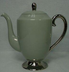 FLINTRIDGE china BROOKMERE MIRAMAR pattern COFFEE POT wiht LID 32 oz.